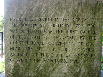 first capital of tennessee